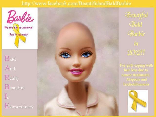 Mattel to manufacture bald Barbie doll - CBS News