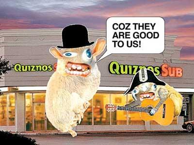 quiznos marketing