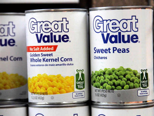 d1d3f3e23 Wal-Mart debuts 'Great for You' seal - CBS News