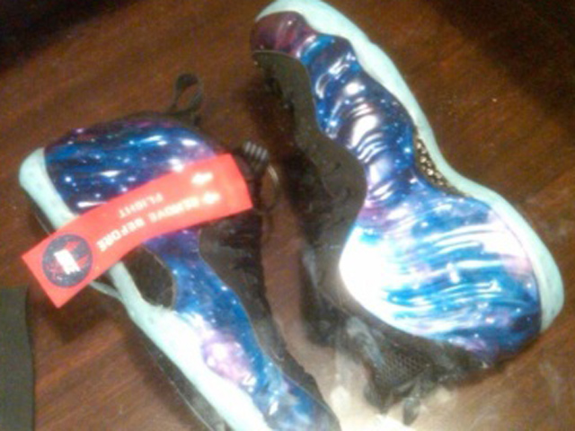 b7d12752519e Nike Air Foamposite One Galaxy shoe release spurs riot at Florida mall