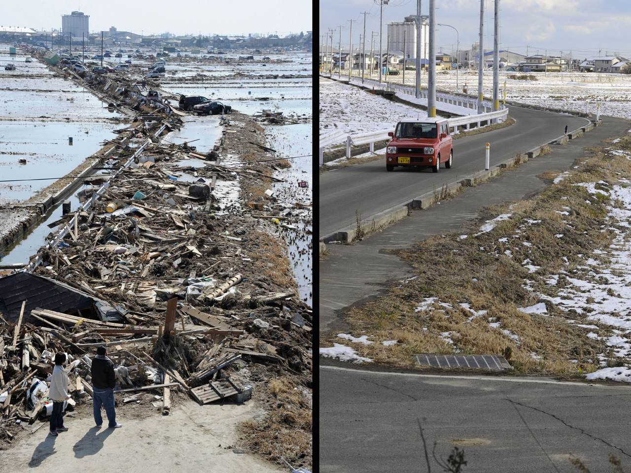 tsunami in japan in 2011 250 words On march 11, 2011, a large earthquake occurred, causing a tsunami which struck the pacific coast of northeast japan we investigated the s2) furthermore, this area showed ground subsidence of 300–600 mm from the 2011 earthquake, which allowed the inundation of seawater (t sumi, unpubl data.