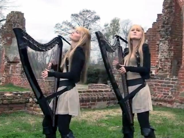 Beautiful Harp Cover Of The Cranberries Zombie Cbs News