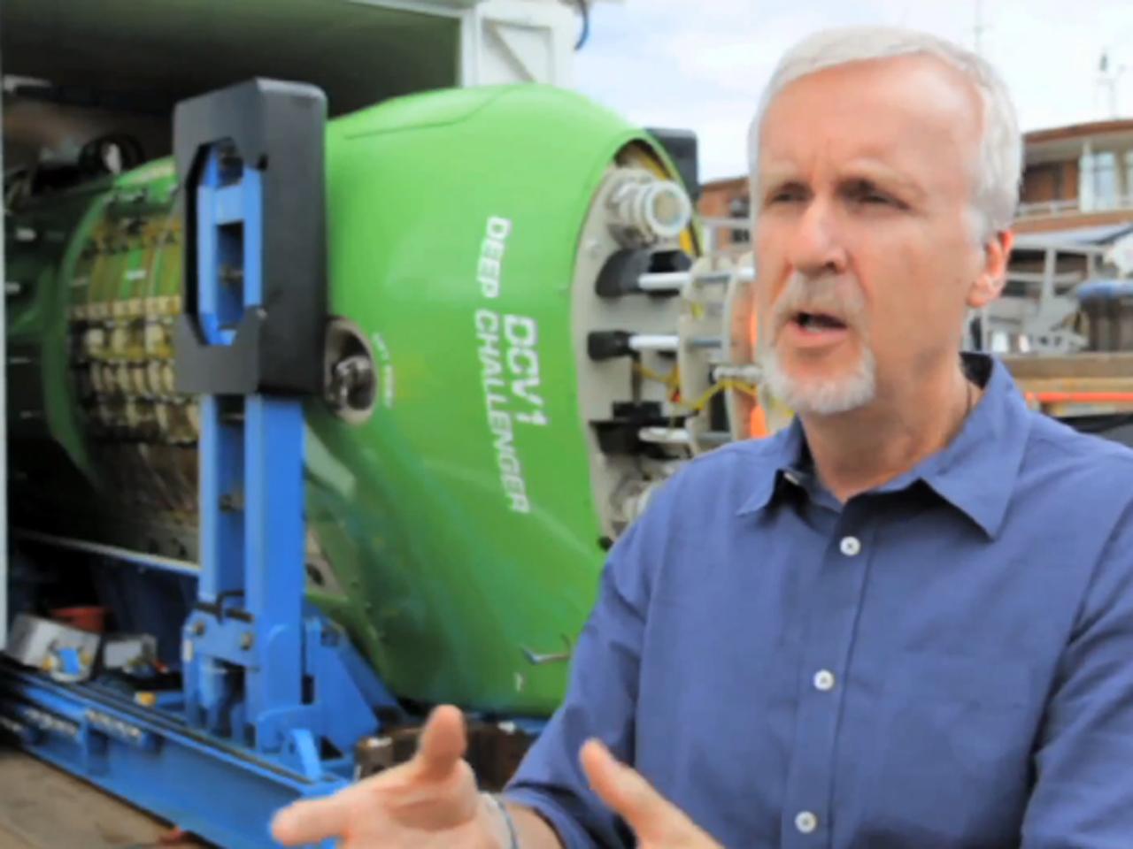James Cameron reaches record 7-mile ocean depth - CBS News