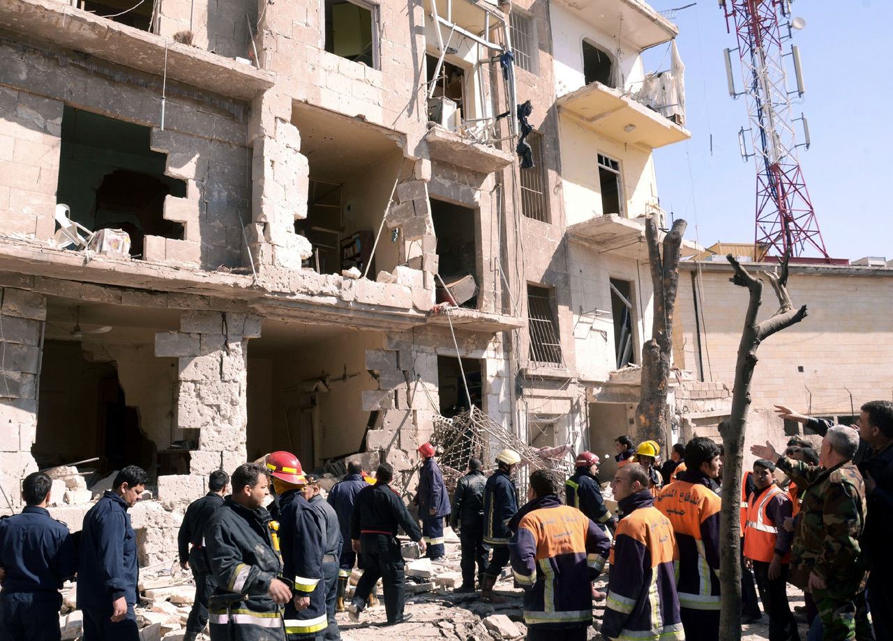 Blast in Syria's 2nd largest city, at least 2 die - CBS News