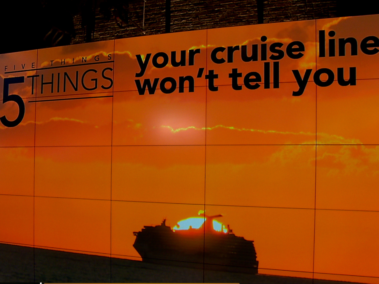 Things Cruise Lines Dont Want You To Know CBS News - Can you text from a cruise ship