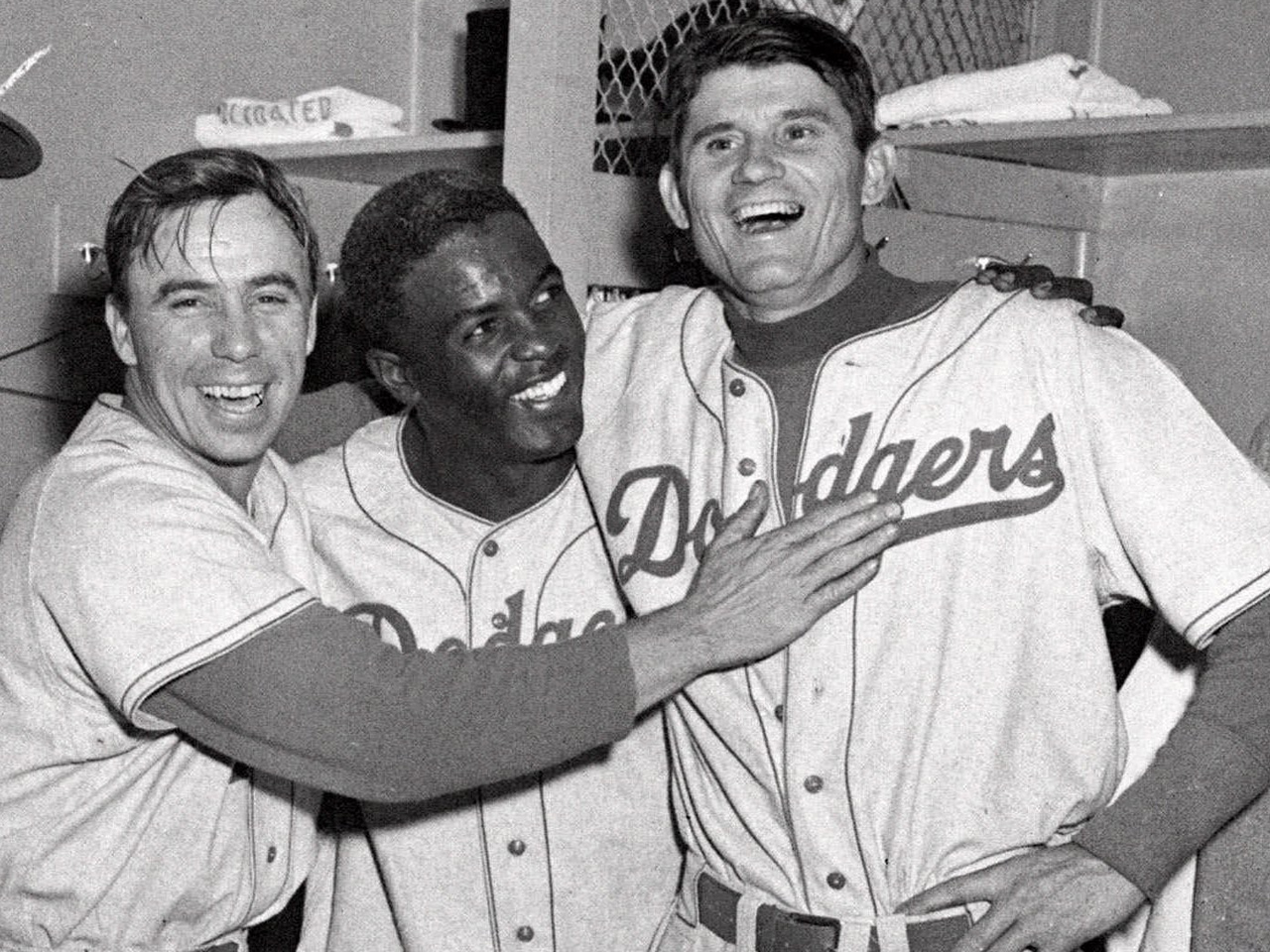 an introduction to the life of jackie roosevelt robinson in major league baseball The united states jackie roosevelt robinson was the first black man to play in modern major league baseball (music) voice one: after world war two, many americans.