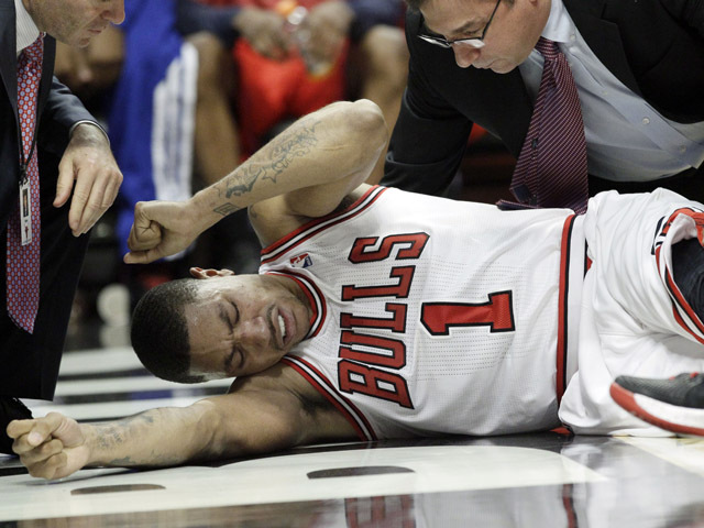 dc477b0bd51 Derrick Rose says tearing ACL was