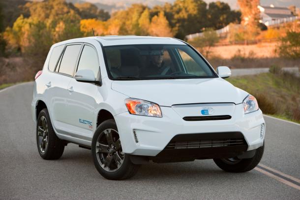Toyota To Unveil All Electric Rav4 Ev