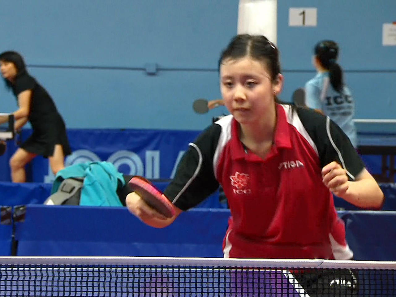 Ping Pong prodigy sets sights on Olympic gold - CBS News