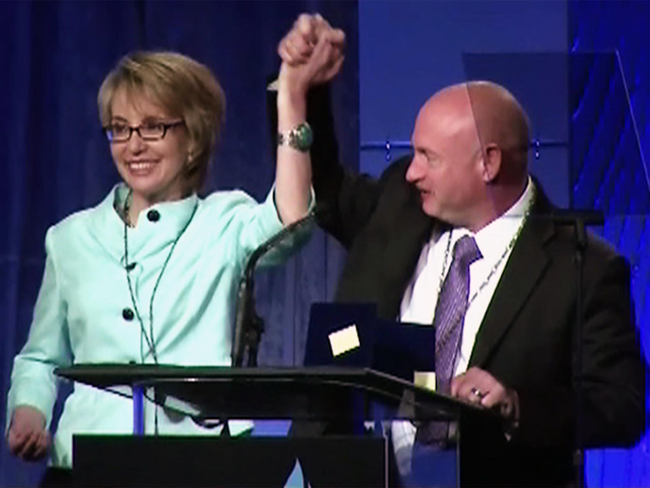 Gabrielle Giffords awarded Medal of Valor