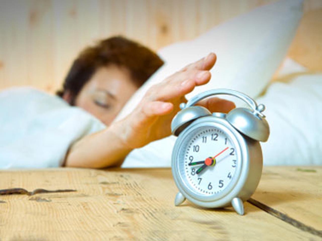 laser target alarm clock 10 offbeat alarm clocks to wake a heavy sleeper pictures cbs news. Black Bedroom Furniture Sets. Home Design Ideas