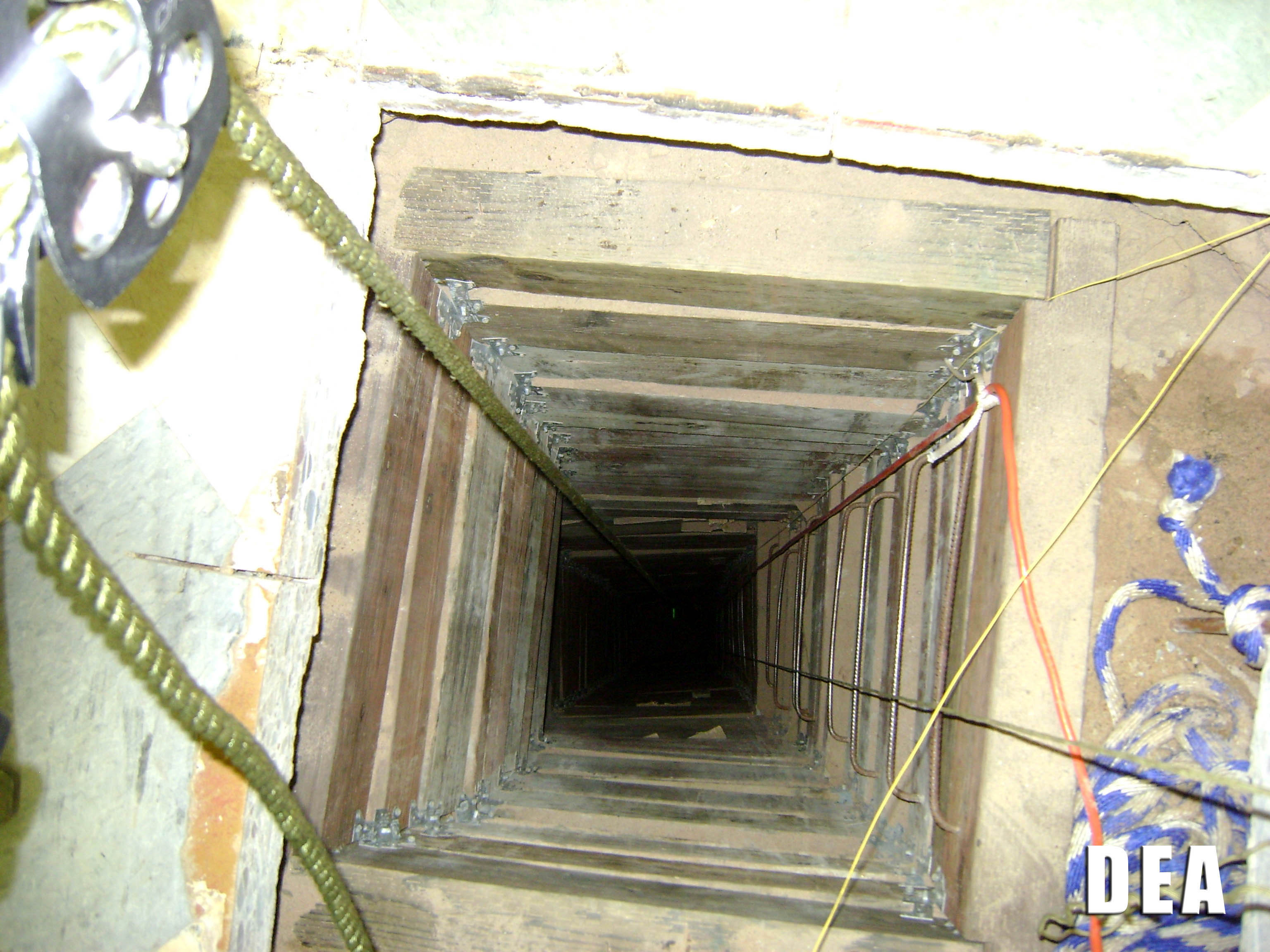 4 sophisticated drug tunnels found on border - CBS News