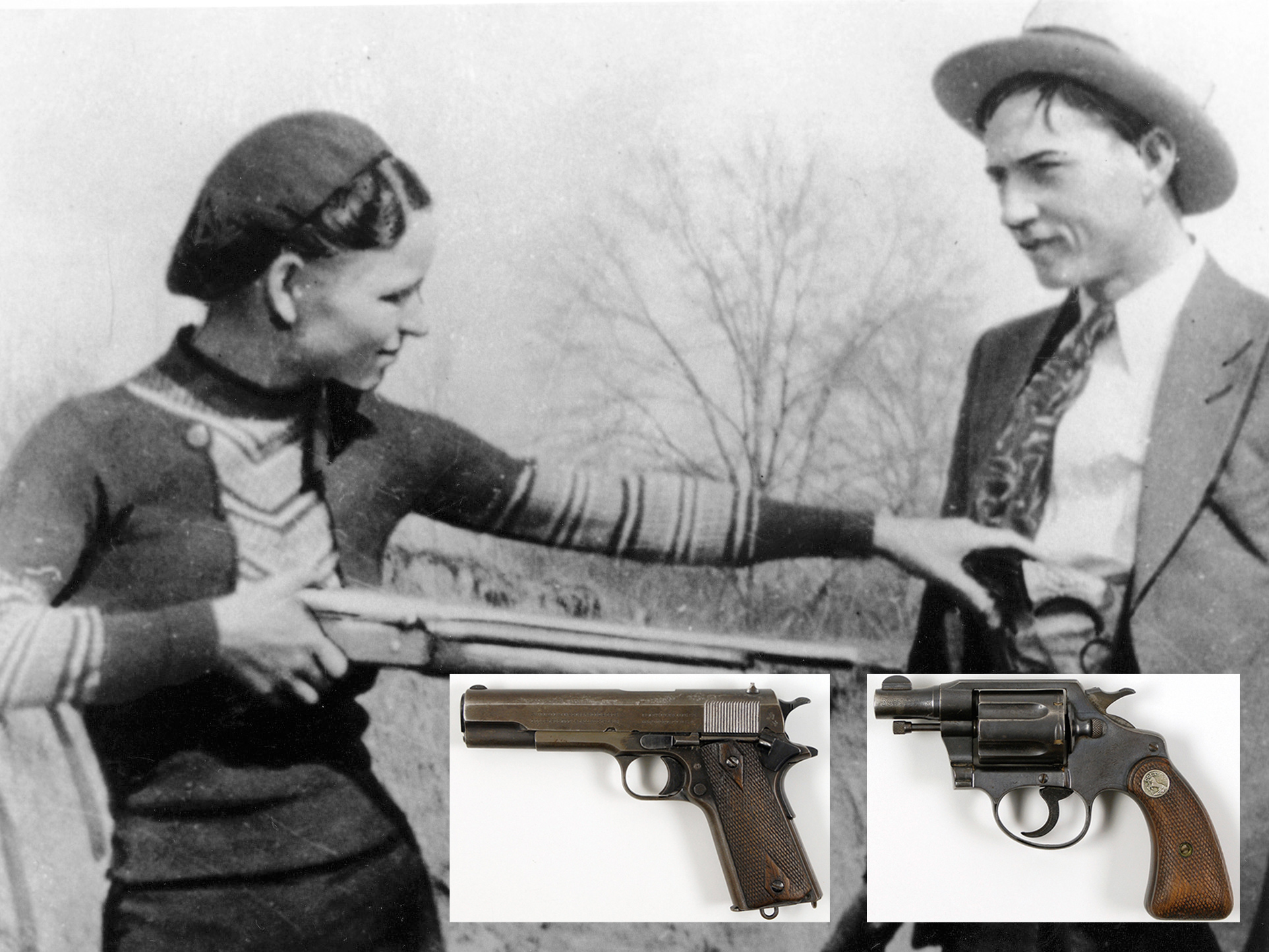 Bonnie and Clyde guns sold at auction for $504K - CBS News