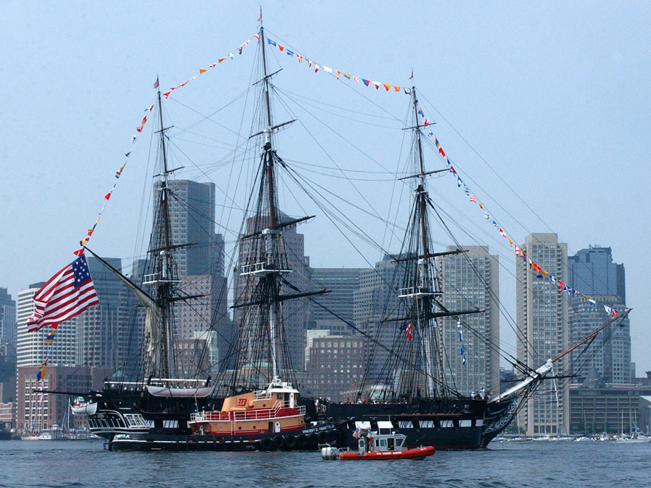 USS Constitution to sail under own power for second time ...Uss Constitution Pictures