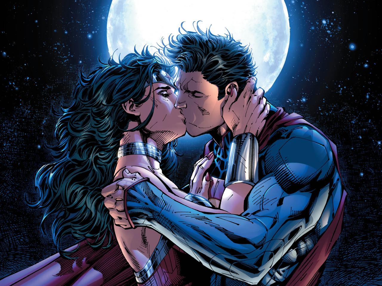 nieuwe 52 Superman en Wonder Woman dating