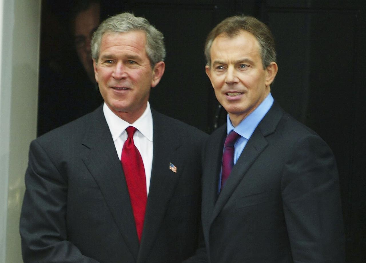 Blair goes bush