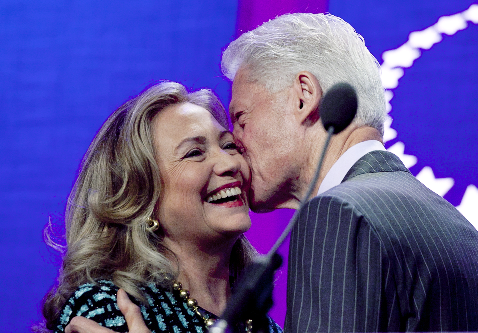 Bill And Hillary Clinton Celebrate 40 Years Of Marriage