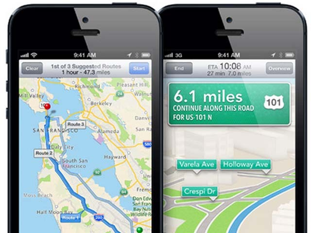 Report: Apple, Google maps debacle sparked by voice navigation ... on