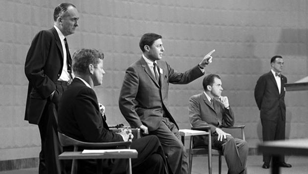 1960 First Televised Presidential Debate Cbs News