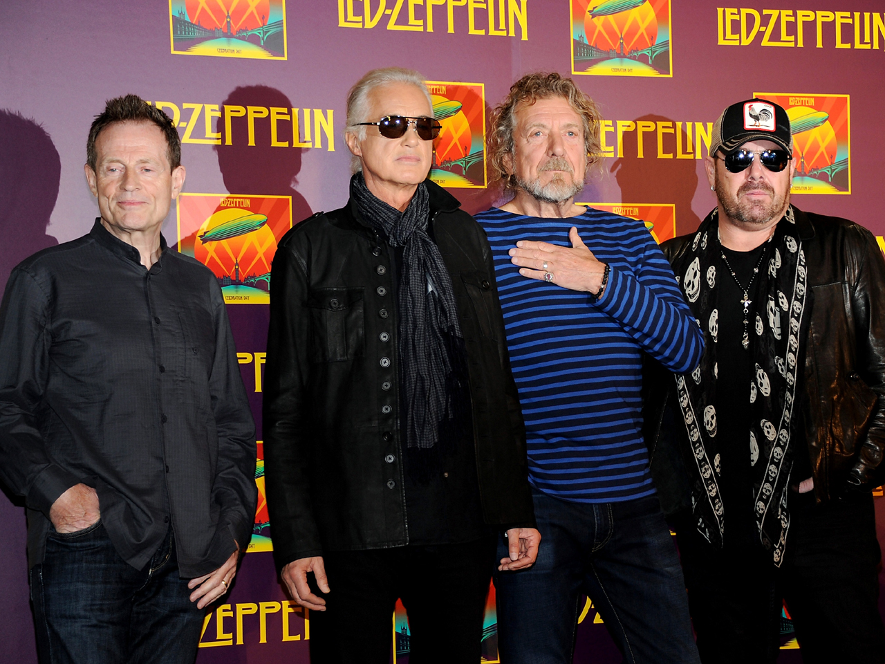 led zeppelin rules out reunion tour for now cbs news. Black Bedroom Furniture Sets. Home Design Ideas