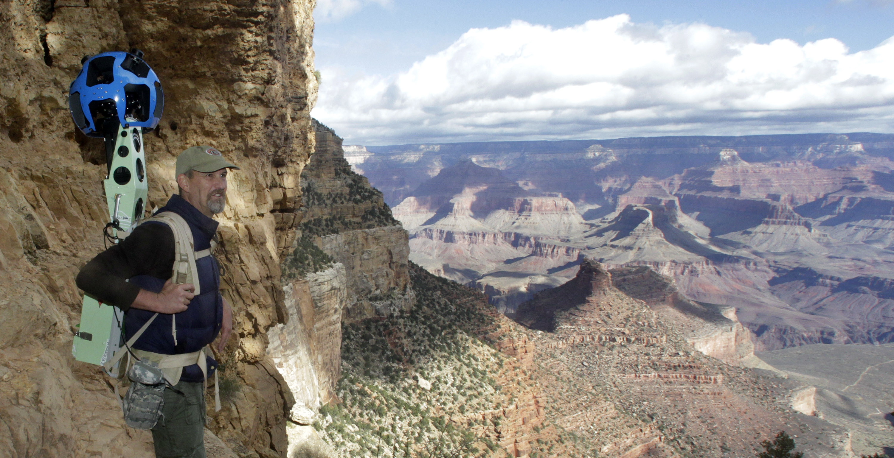 Googles incredible street view of Grand Canyon Photo 1