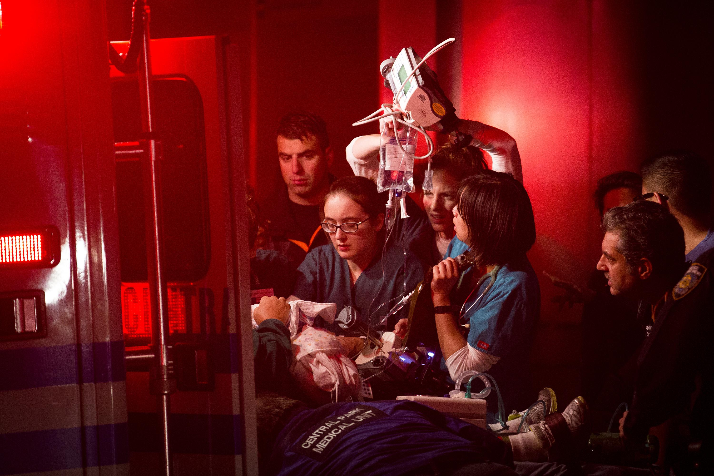 Behind the scenes of the NYU hospital evacuation - CBS News