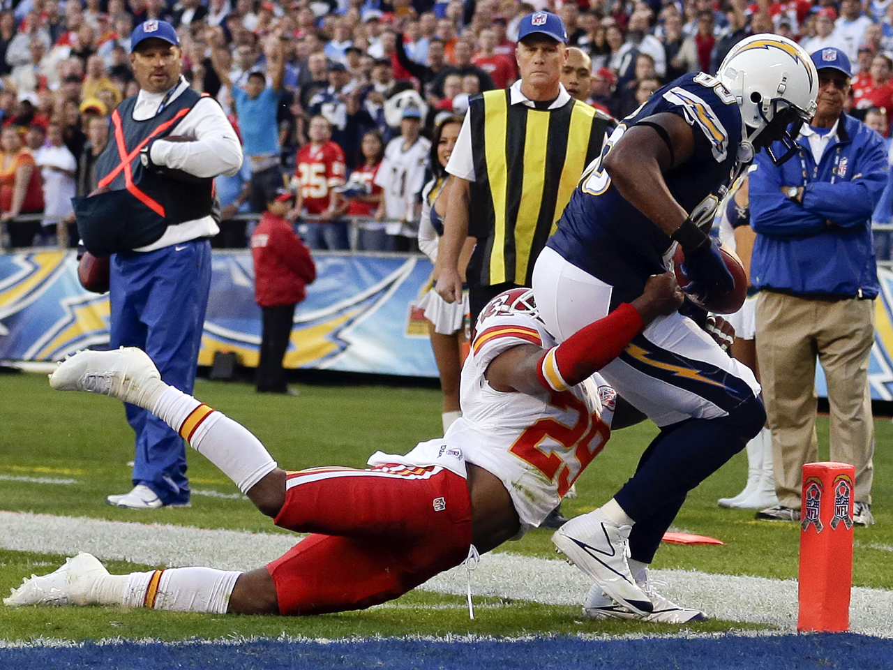 San Diego Chargers Beat Kansas City Chiefs To Snap Losing