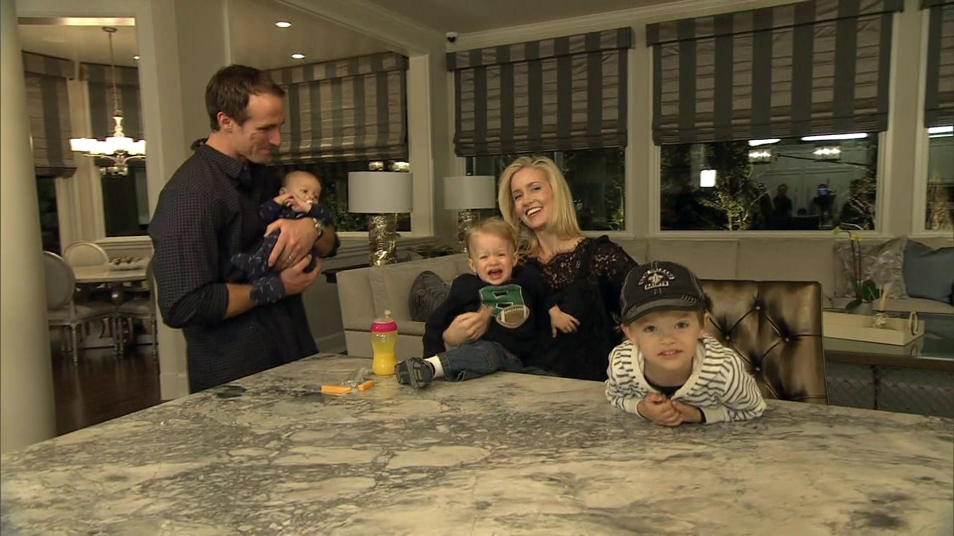 At Home With Drew And Brittany Brees Photo 1 Pictures