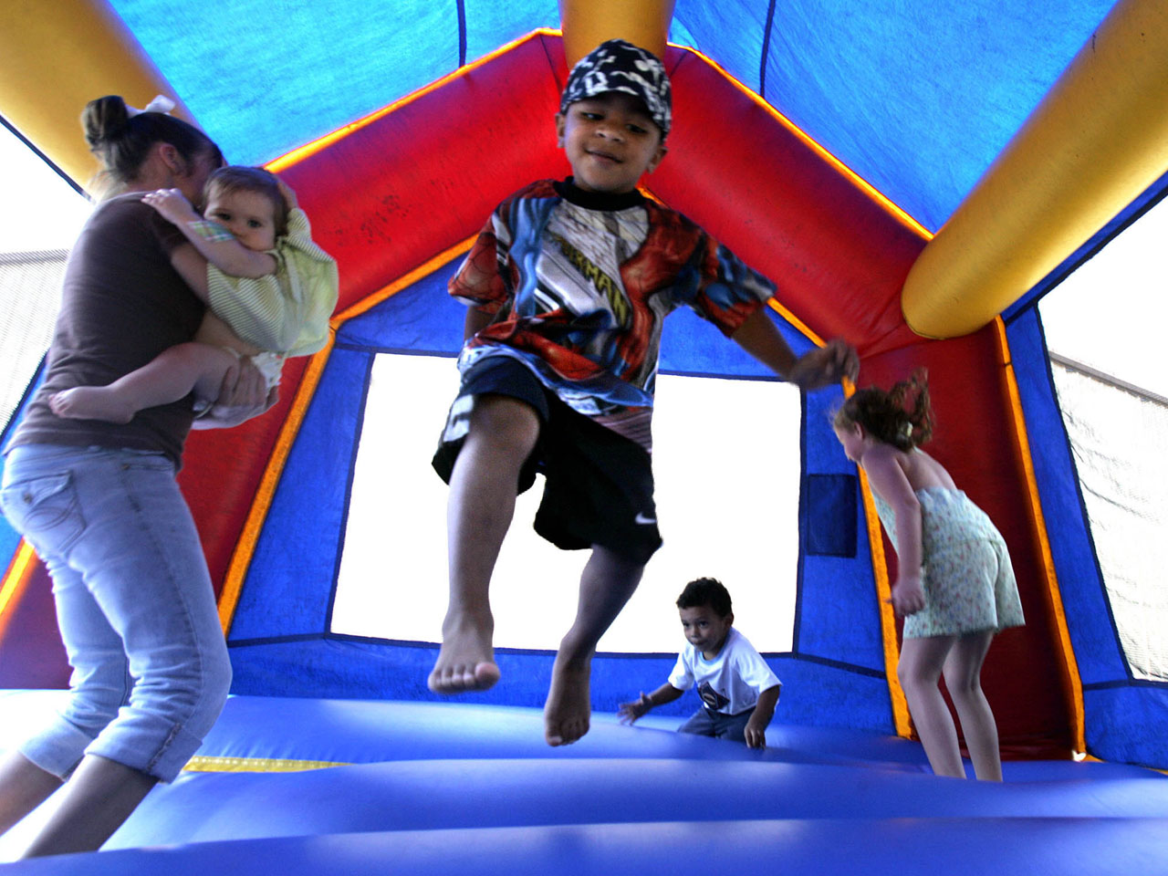 Bounce Houses Injure A Us Child Every 46 Minutes Study Finds