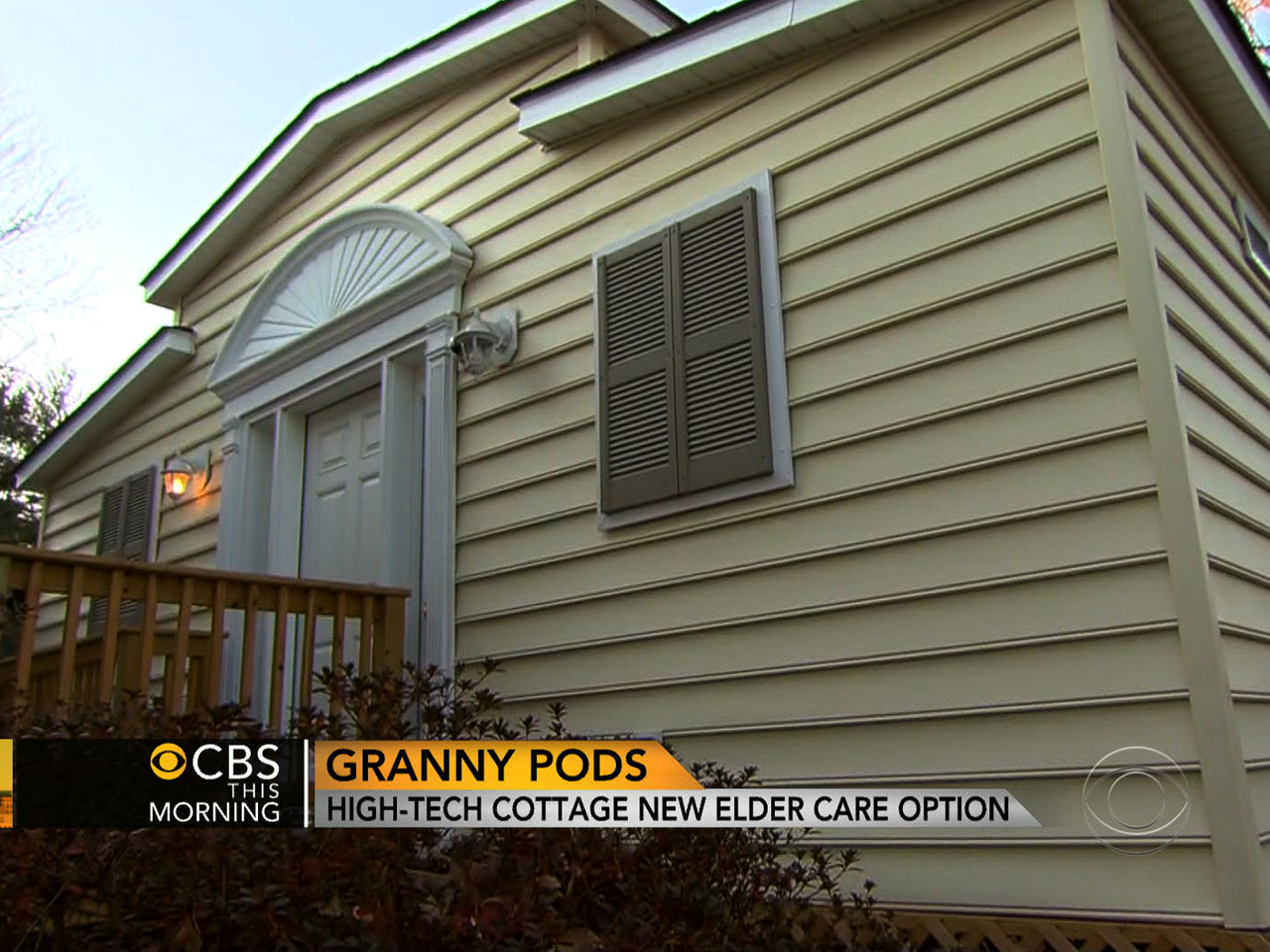 Granny Pods Inside Housing Alternative For Aging Loved Ones