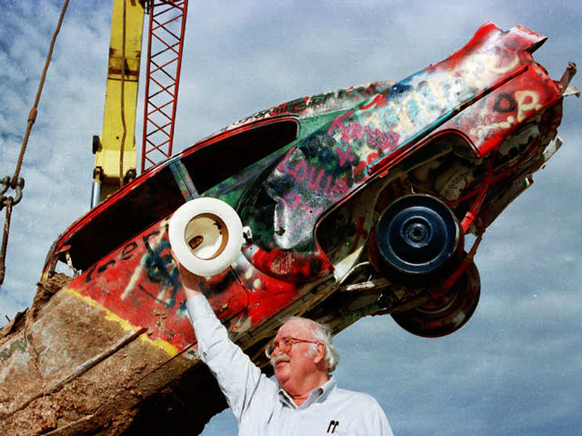 Stanley Marsh Texas Millionaire Owner Of Cadillac Ranch Charged