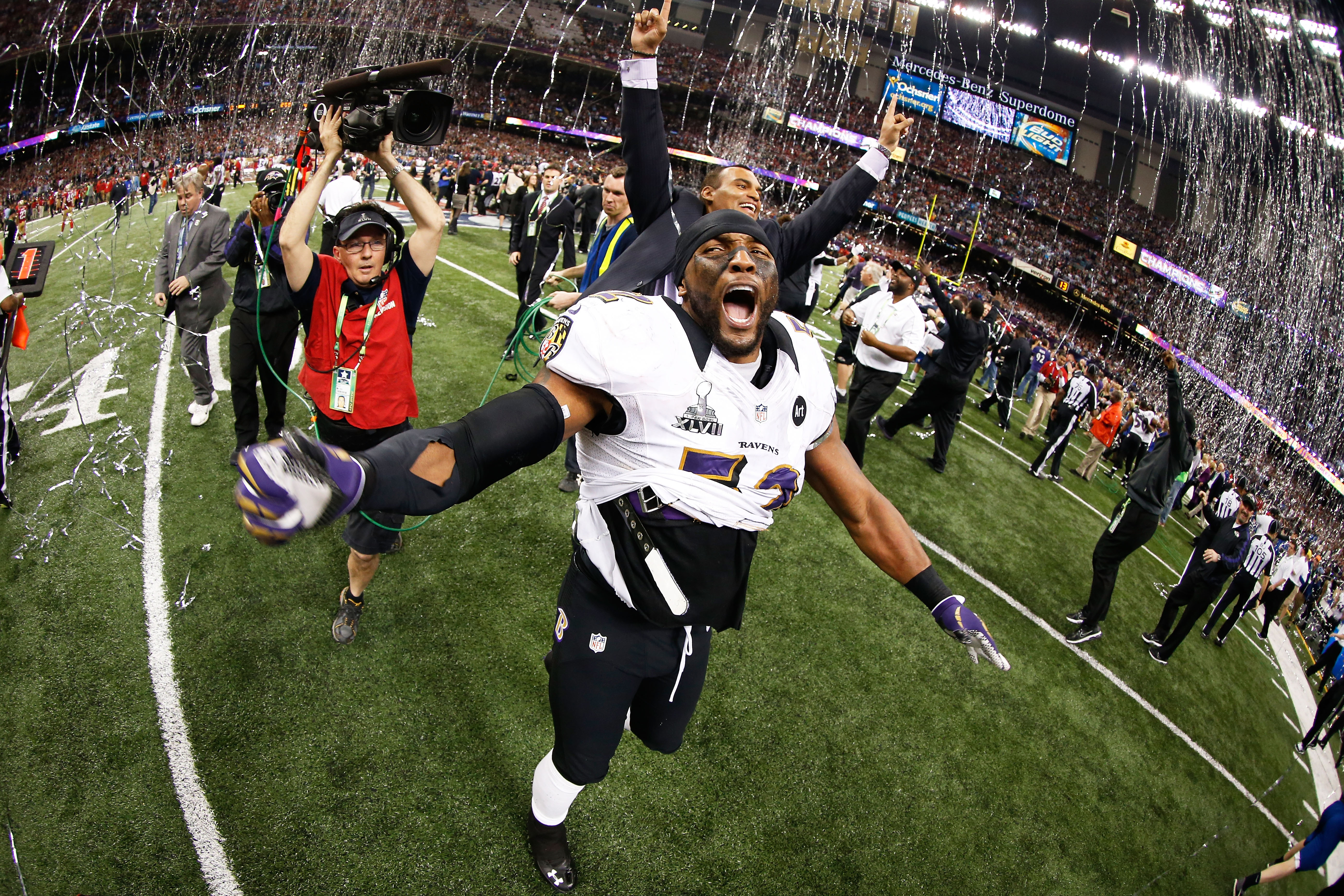 Super Bowl 2013  Ray Lewis ends brilliant career with championship ... 1e4a3a547