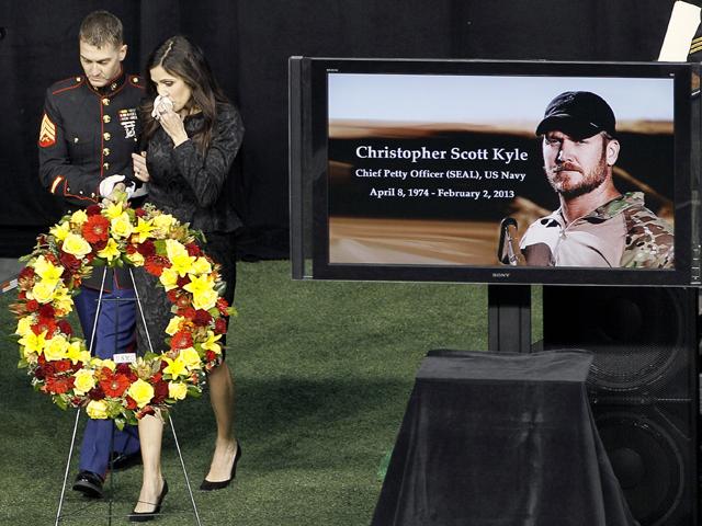 Chris Kyle Memorial: Thousands attend memorial for ex-Navy