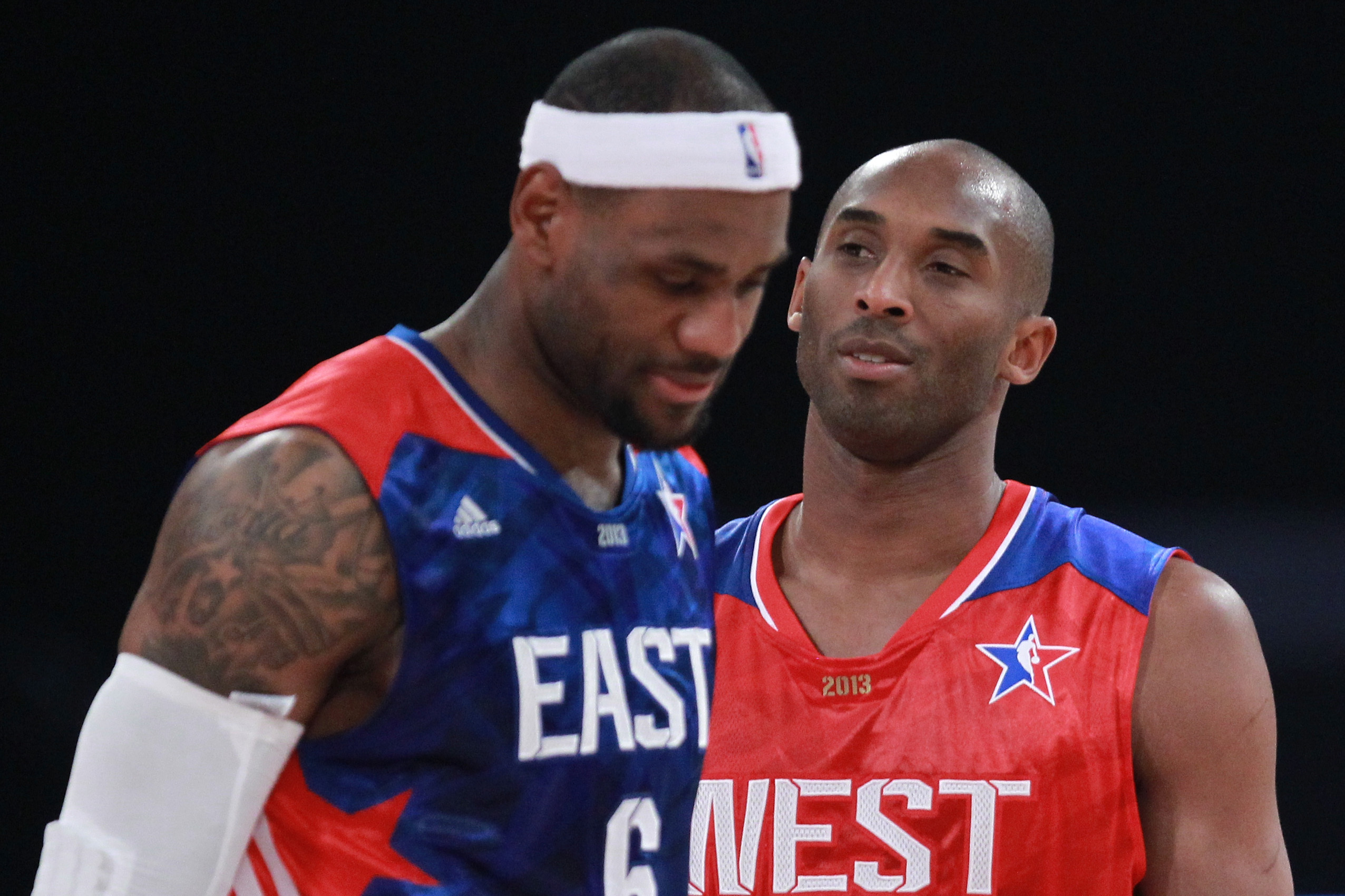 7660047a76d NBA All-Star Game  Kobe Bryant gets bets of LeBron James as West beats East  143-138