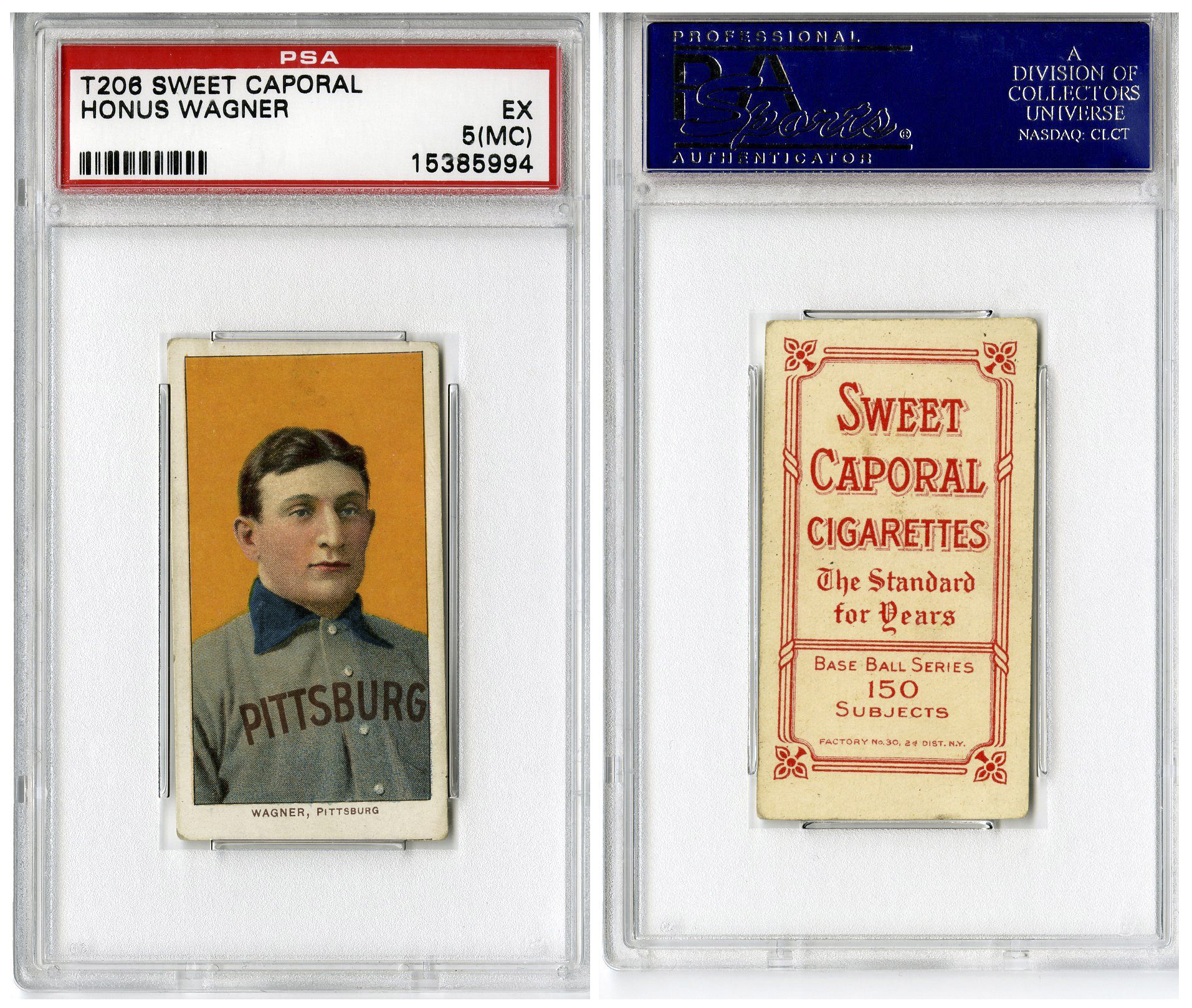 Honus Wagner Baseball Card Sells For 21m At Auction Cbs News