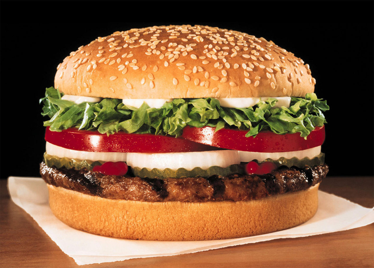 the whopper top bun america 39 s favorite burgers pictures cbs news. Black Bedroom Furniture Sets. Home Design Ideas