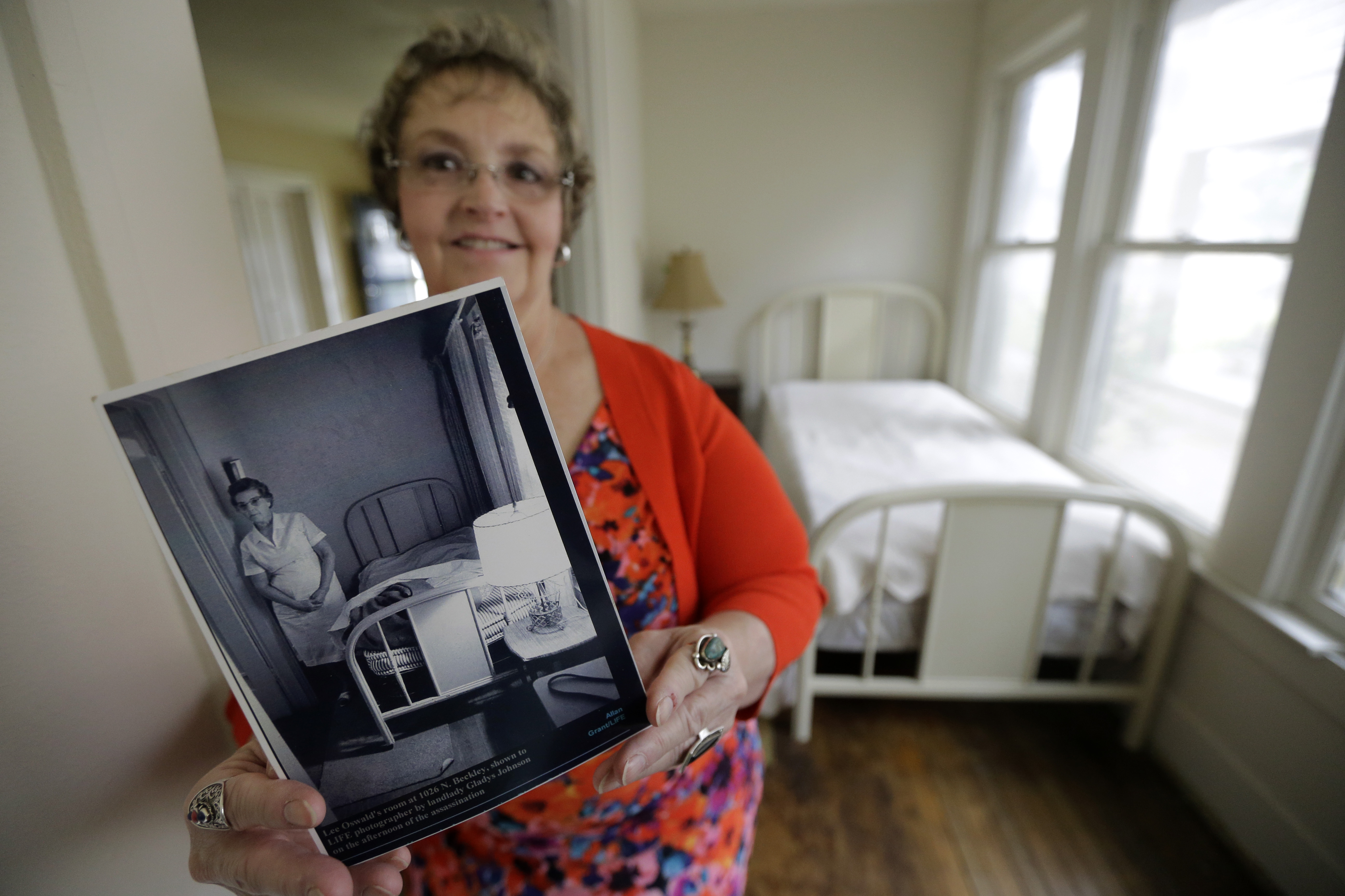 Dallas house where Lee Harvey Oswald lived to go up for sale