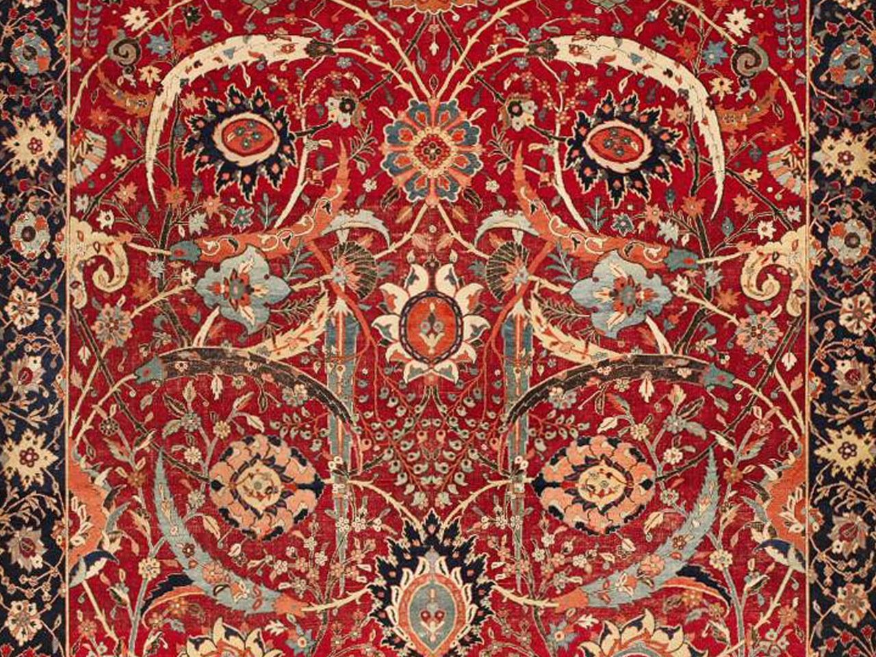 Persian Rug From 1600s Fetches Record