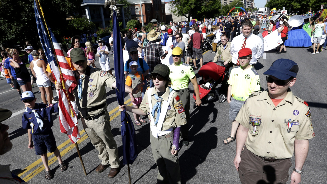 Boy Scouts Of America To Open Ranks To Gay Youths On Jan -1119