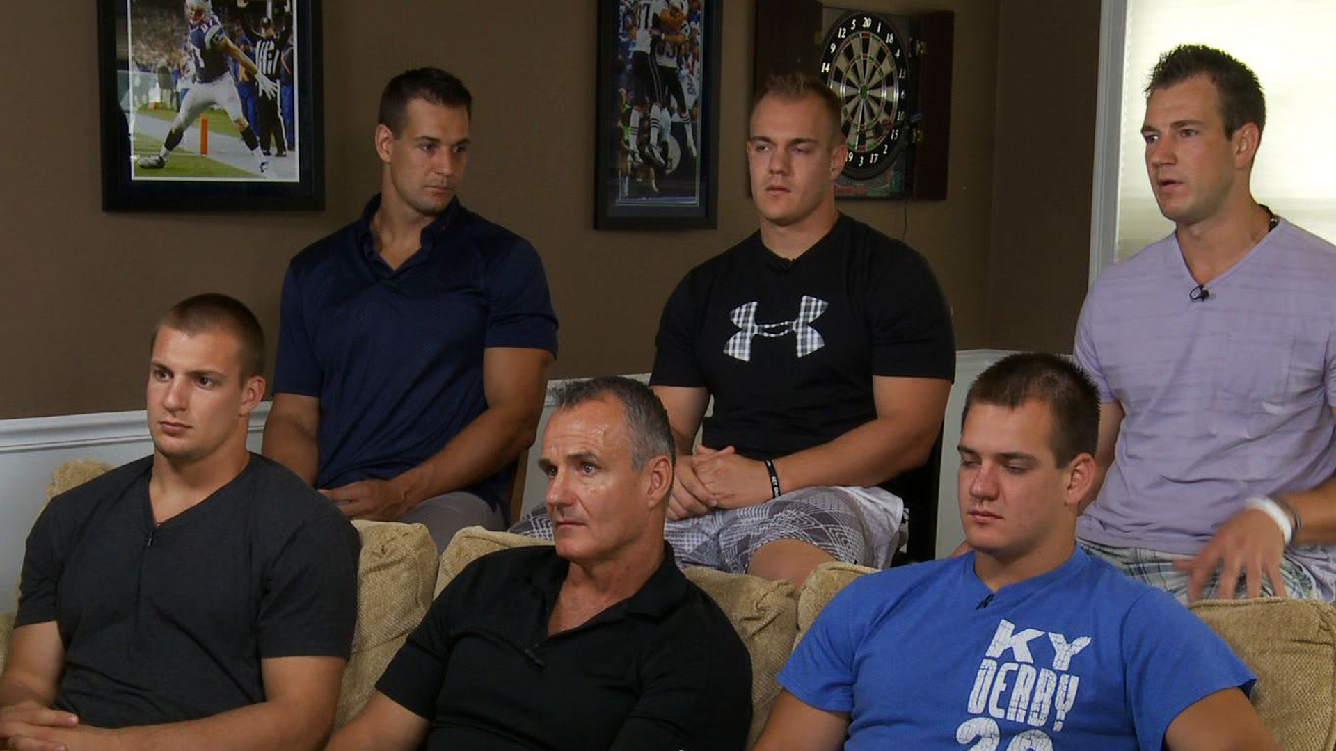 Gronkowski Family Speaks Raising Champions Injuries And Hernandez