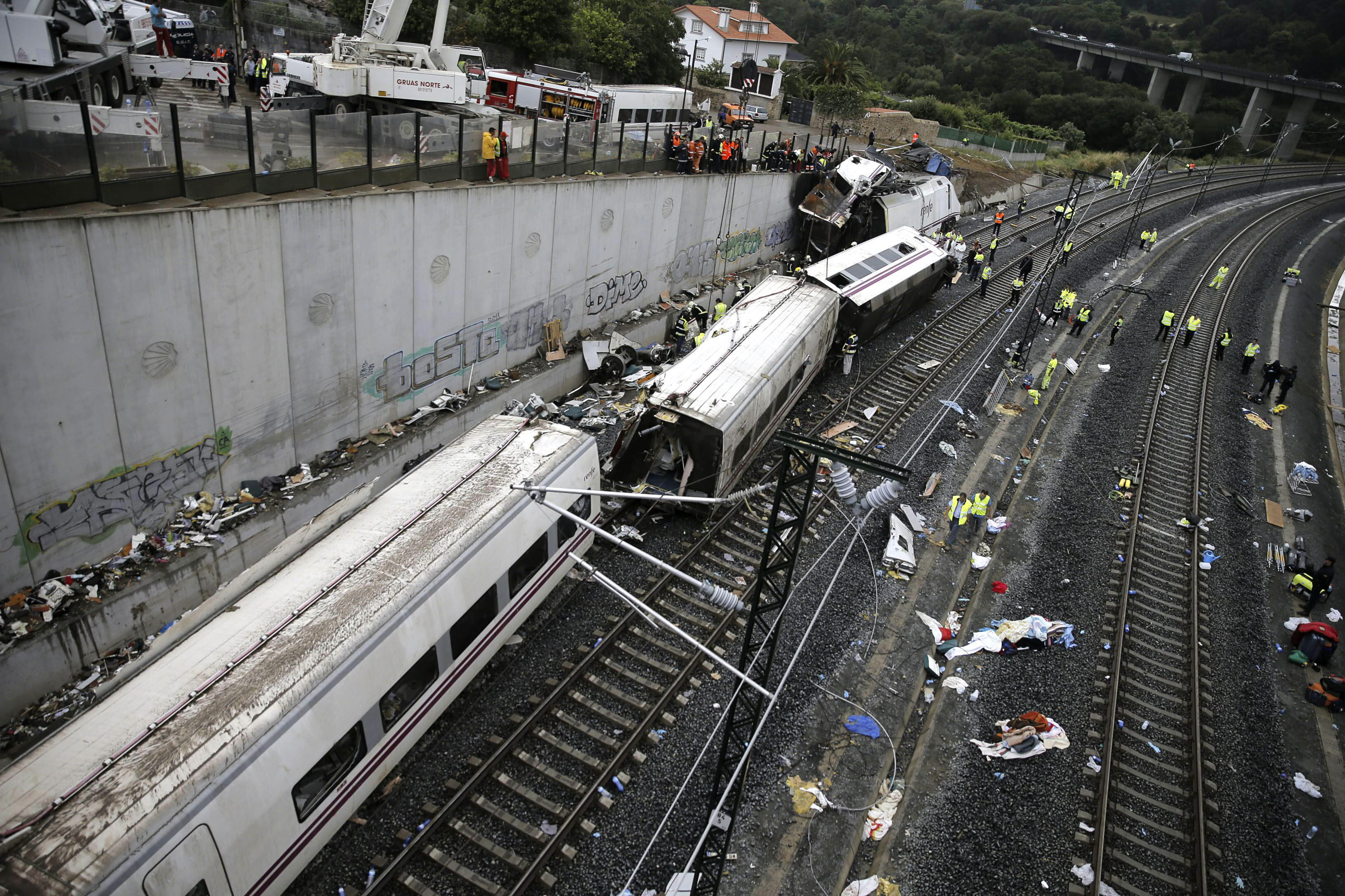 Father of American killed: Spain train crash