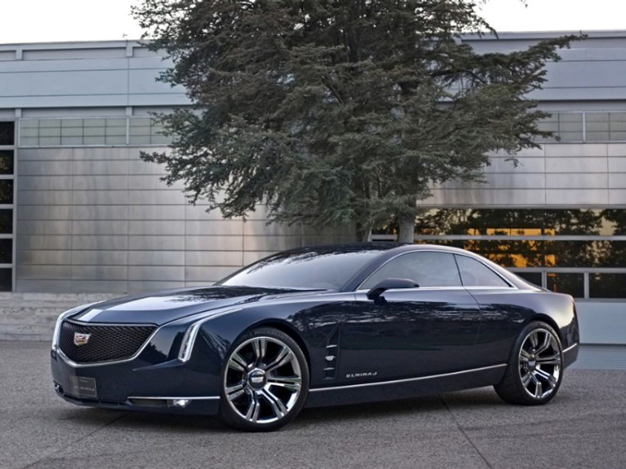 Cadillac Shows Off Two Door Coupe Concept Car