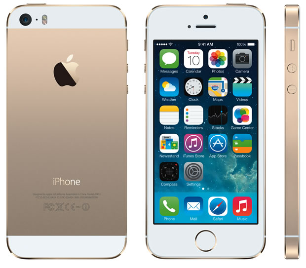 grande vendita ac538 addb5 Gold iPhone 5S sells on eBay for more than $10,000 - CBS News