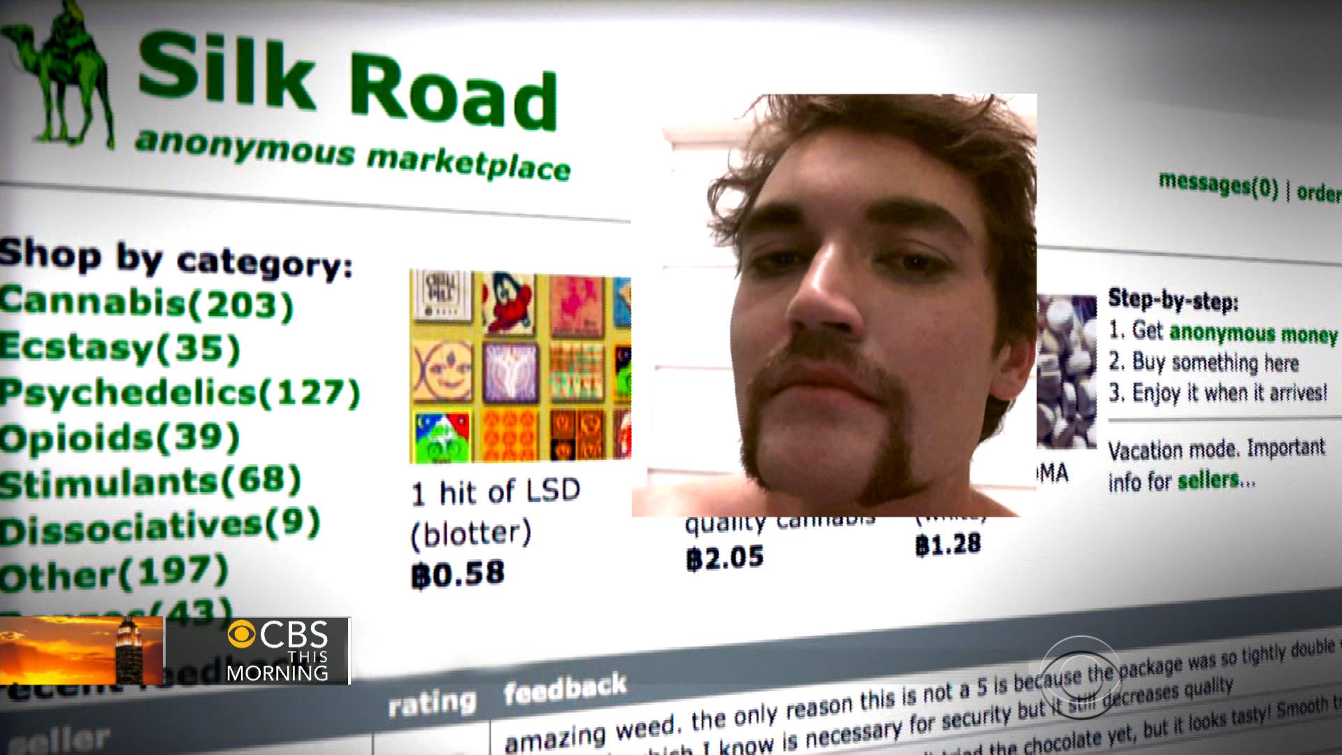 bitcoin black market silk road)