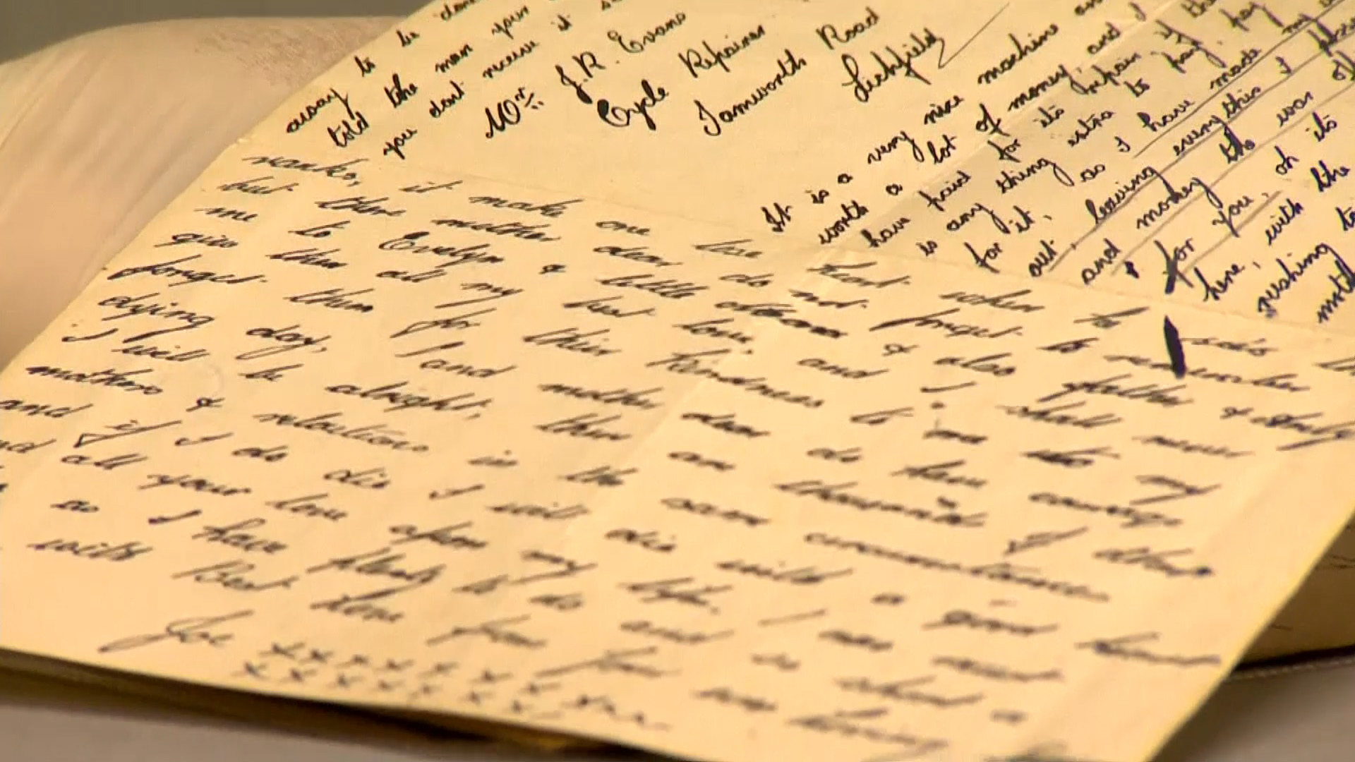 British soldiers' World War I letters and wills go online - CBS News