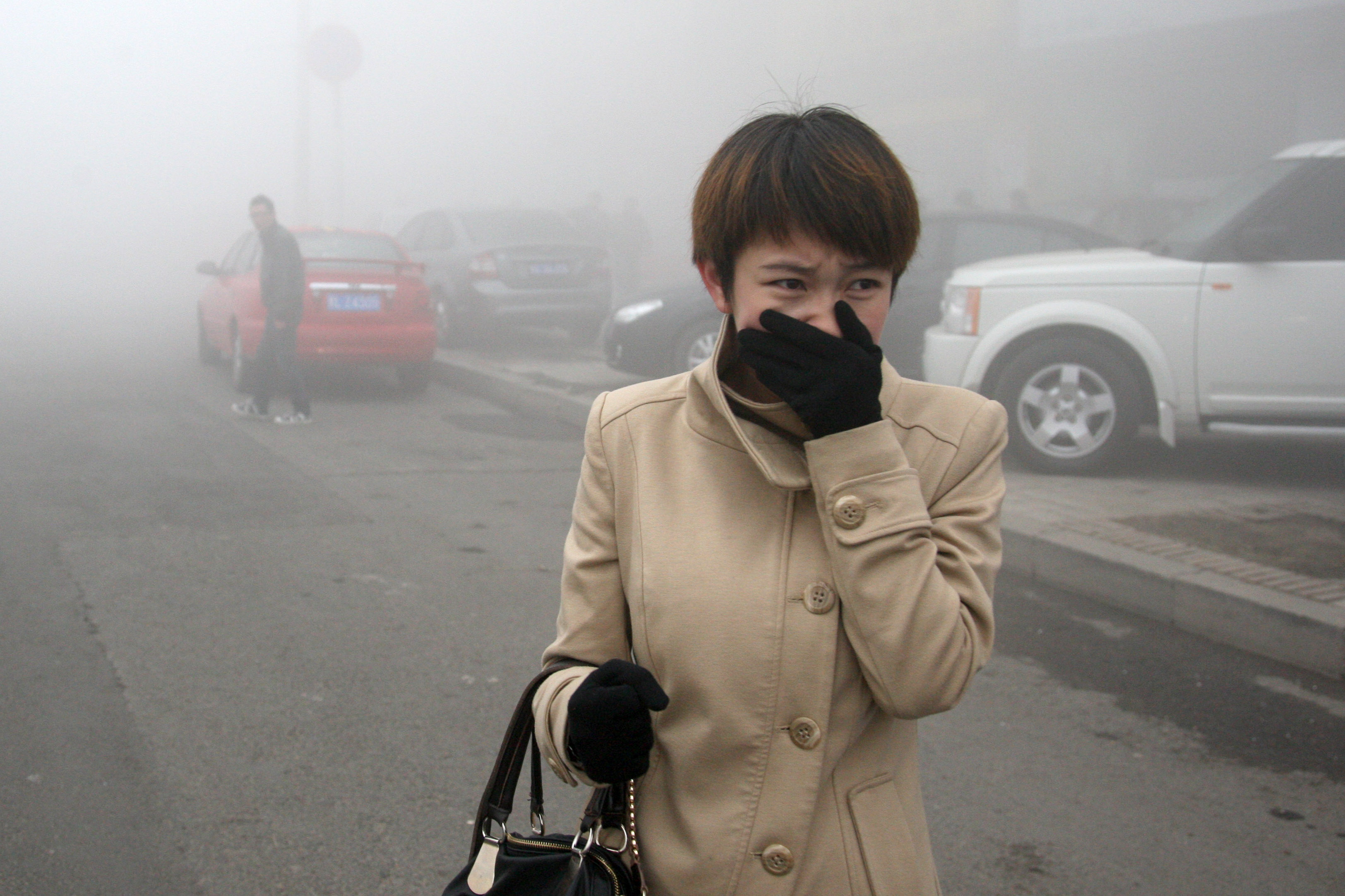 air pollution in northern china More than one-third of the chinese population regularly breathes unhealthy air,  researchers say.