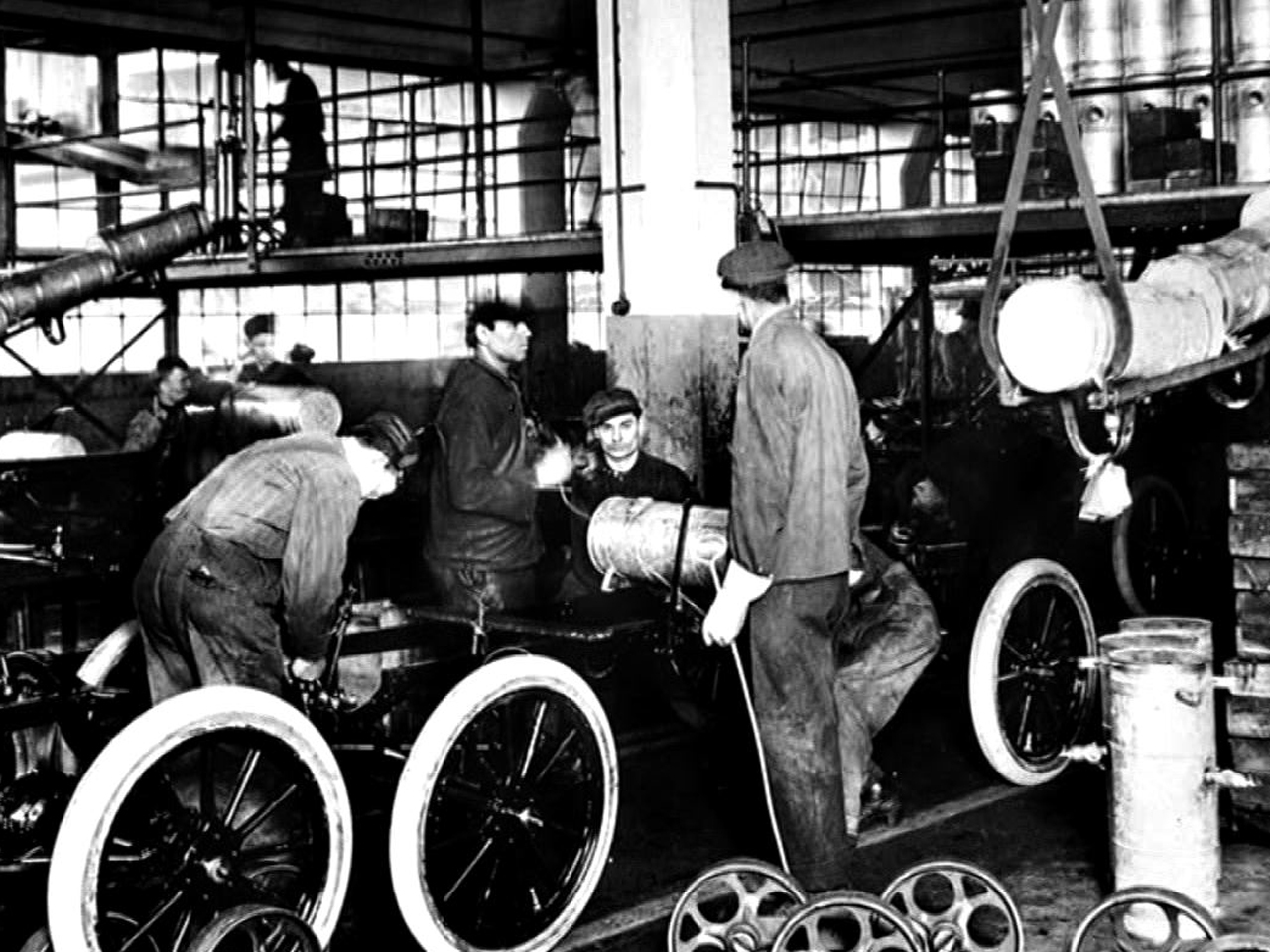how henry ford changed industry production and peoples lives