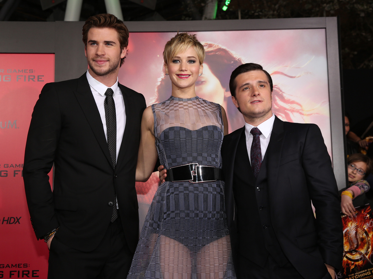 The Hunger Games Catching Fire Cast Hits Hollywood For Premiere