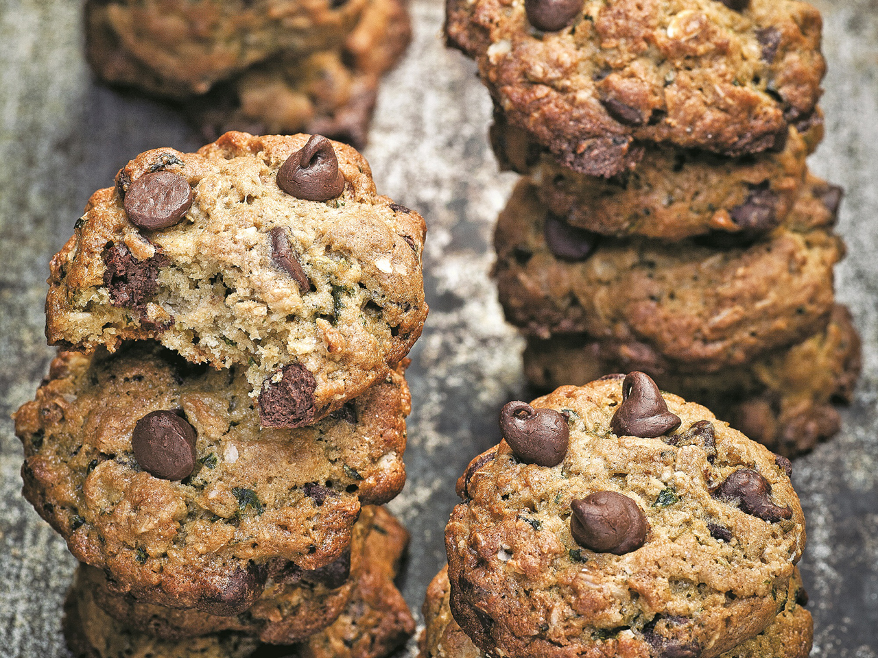 Chocolate Chip Cookies With Whole Wheat Flour And Oats