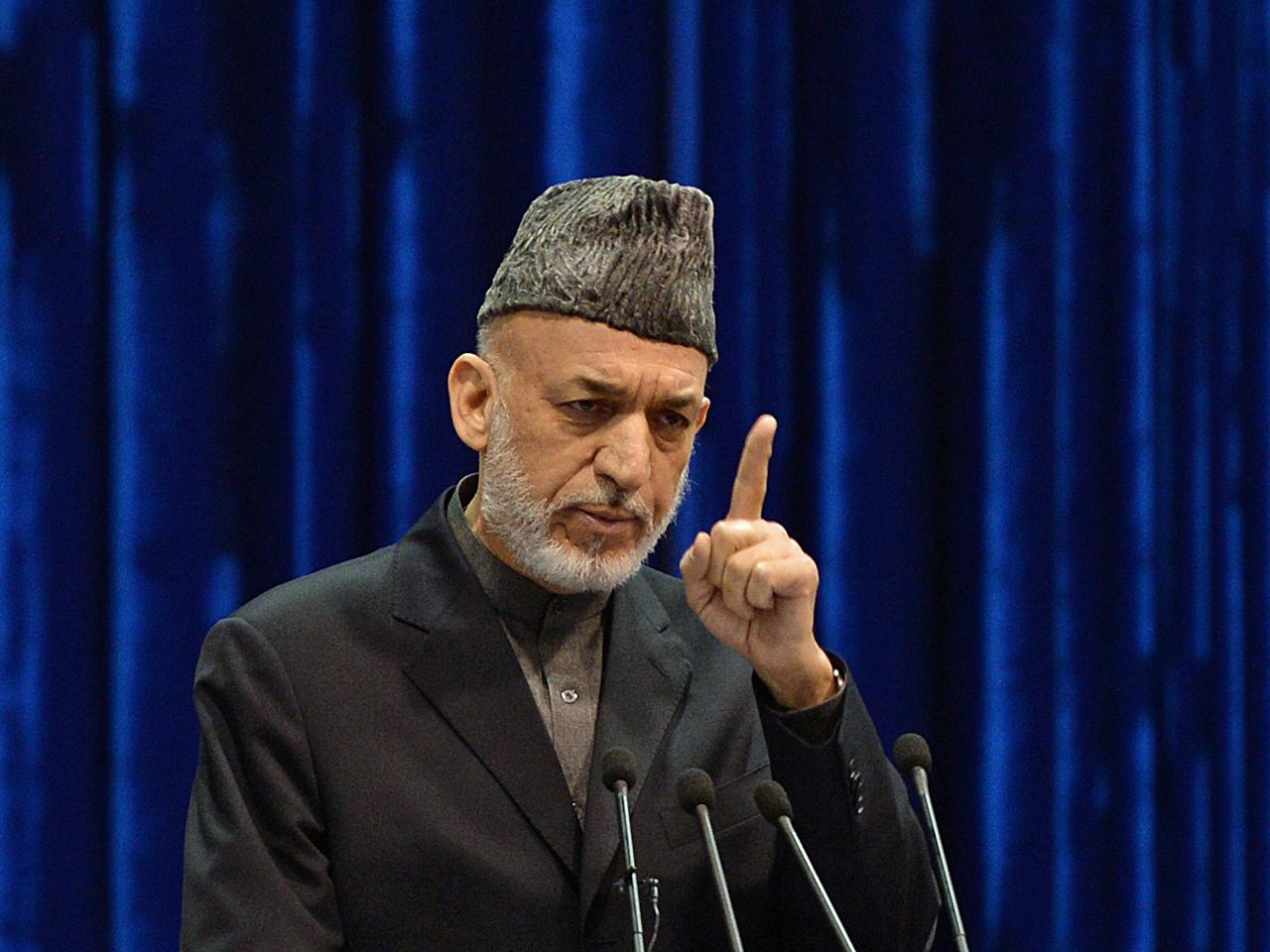 Afghanistan President Karzai in dangerous game of chicken